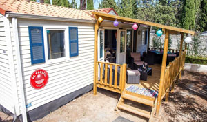 An Al Fresco Holiday Mobile Home on a holiday park