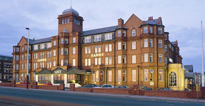 Seaside hotels in Blackpool - hotels with a sea view in Blackpool
