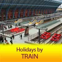 No Fly Holidays by Train