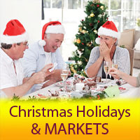 Christmas Breaks & Markets