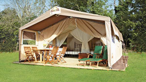 A luxurious Eurocamp camping holiday in Europe
