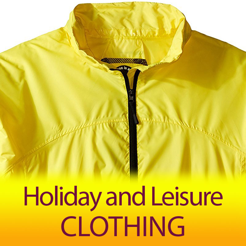 Holiday and Leisure Clothing - Click Image to Close