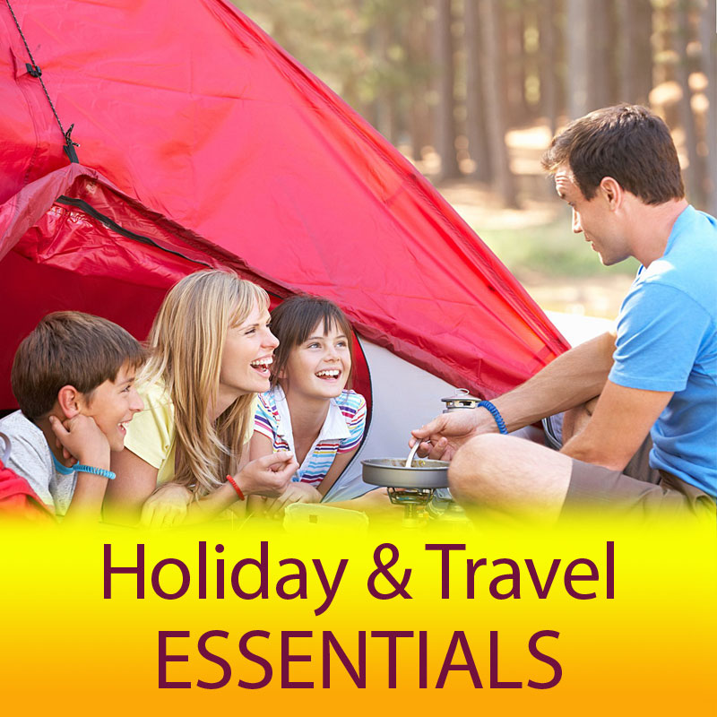 Holiday Essentials - Don't travel without...