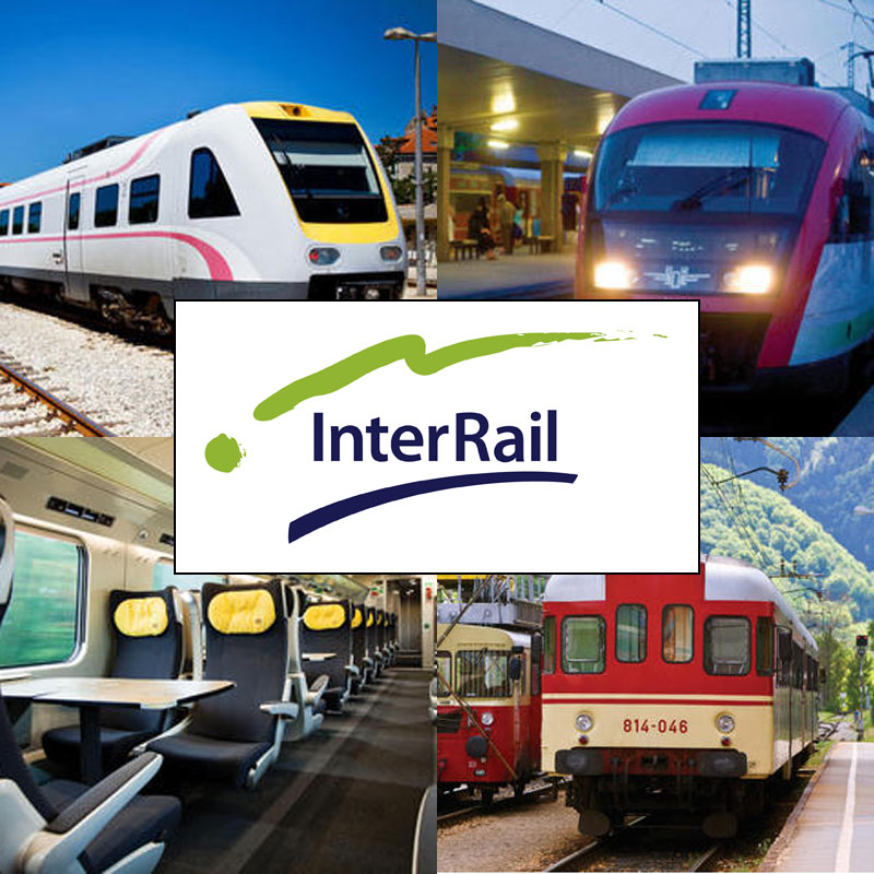Interrail EU - European Rail Travel Passes