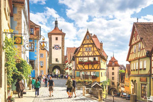 An escorted luxury coach holiday to Germany