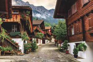 An escorted luxury coach holiday to Switzerland