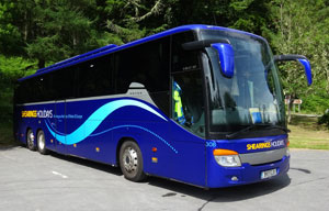 A Shearings Holidays luxury coach