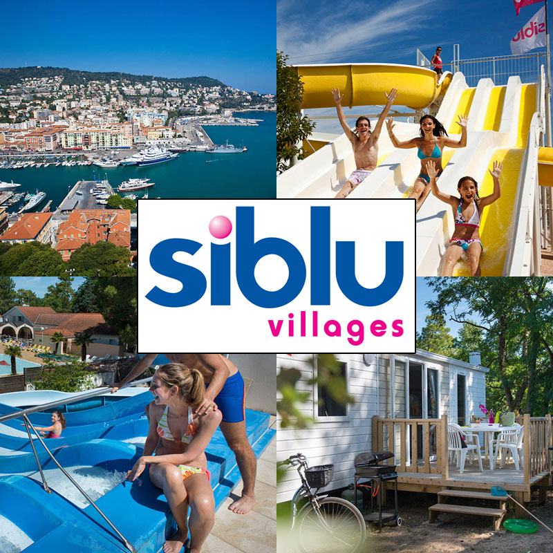Siblu Village Holiday Parks in France